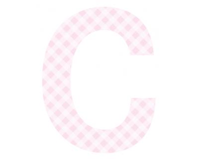 Buchstaben - Aufkleber - C
