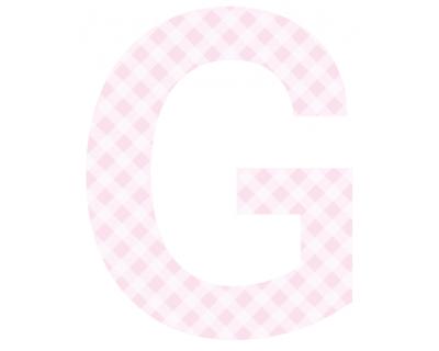Buchstaben - Aufkleber - G