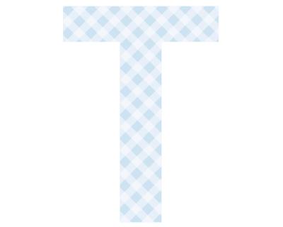 Buchstaben - Aufkleber - T