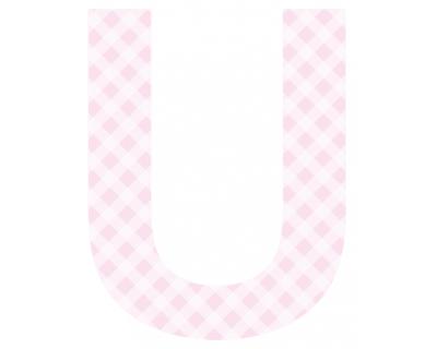 Buchstaben - Aufkleber - U