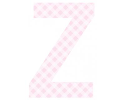 Buchstaben - Aufkleber - Z