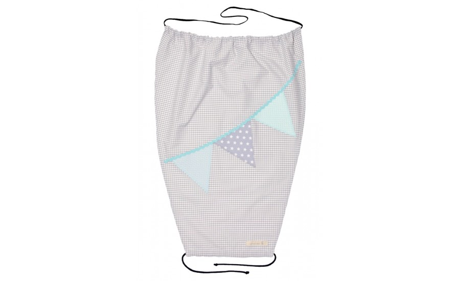 SONNENSEGEL SHADOW WIMPEL - GREY/MINT