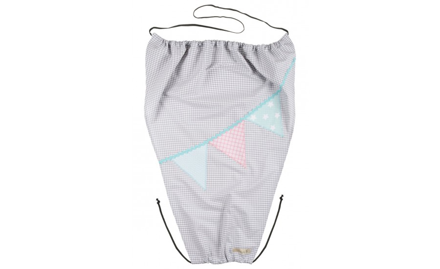 SONNENSEGEL SHADOW WIMPEL - GREY/LIGHT PINK