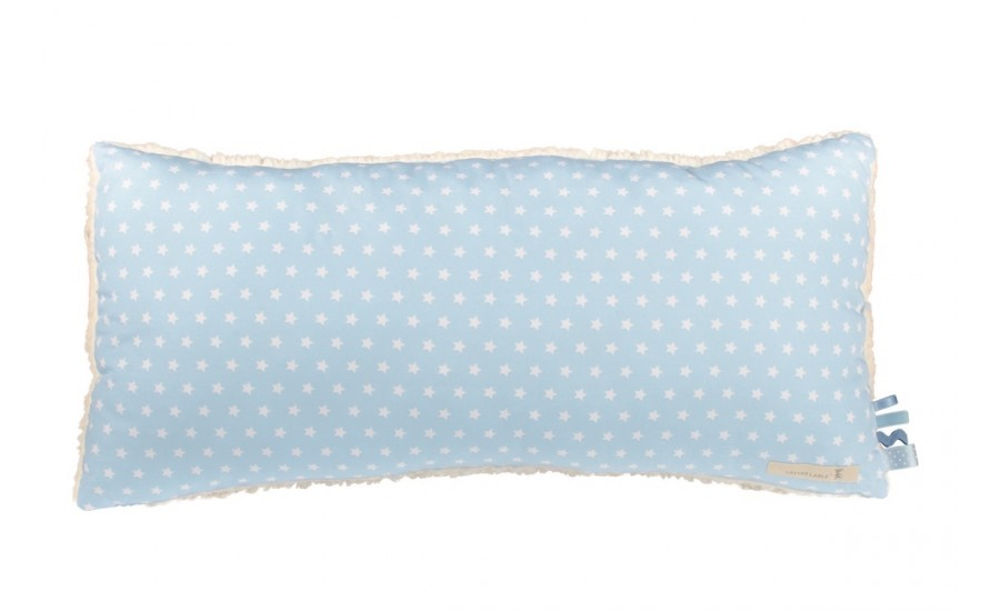 30x60 KUSCHELKISSEN DECO STAR - LIGHT BLUE