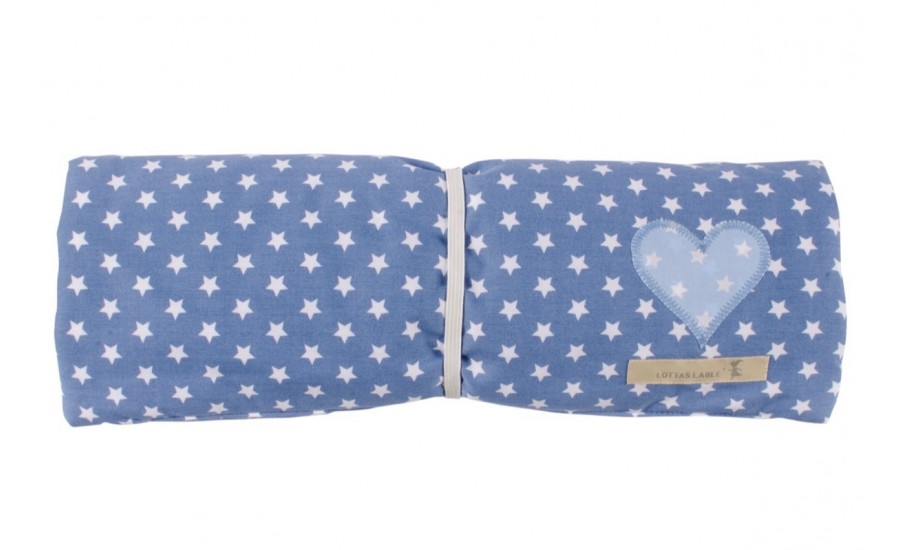 WICKELUTENSILO TO GO STAR - JEANS - LIGHT BLUE - Ausverkauft !!!