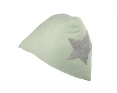 DREIECK KISSEN PYRAMID - SOFT GREEN