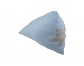 DREIECK KISSEN PYRAMID - PASTELL BLUE