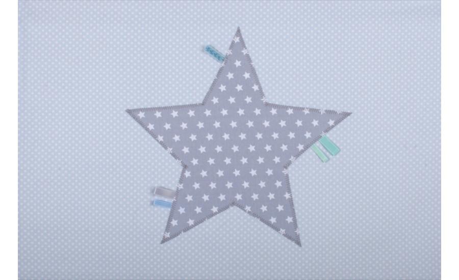 Baumwollteddydecke Stern