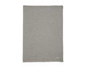 JERSEY/VELOUR DECKE QUILT STAR - PEBBLE GREY