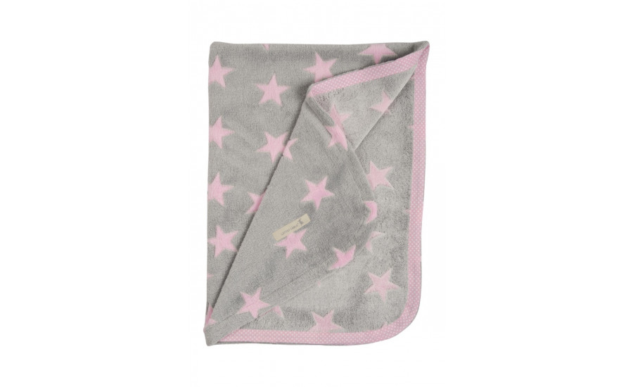 Fleecedecke Pink Stern