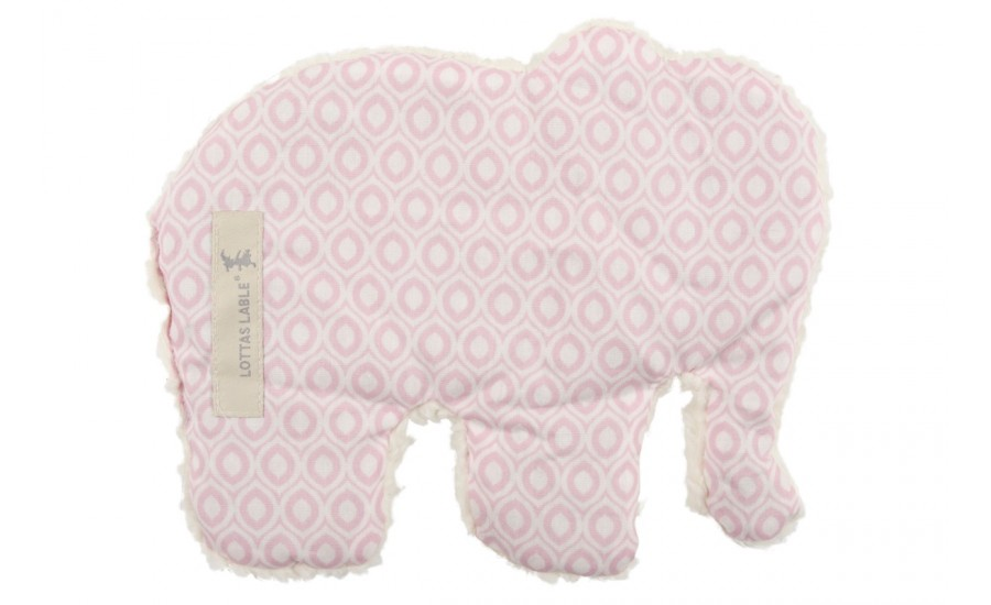 Wärmekissen in Elefantenform hellrosa