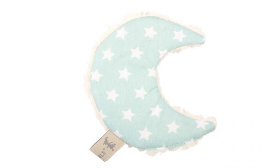 Knistertuch Mond Luna - Star mint