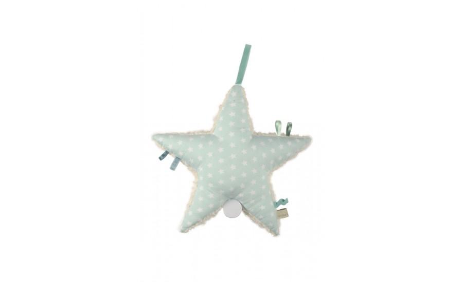 Spieluhr Stern Form Stern Aris Stars mint