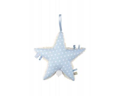 Spieluhr Stern Form Stern Aris Stars hellblau