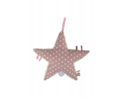 Spieluhr Stern Form Stern Aris Stars rose