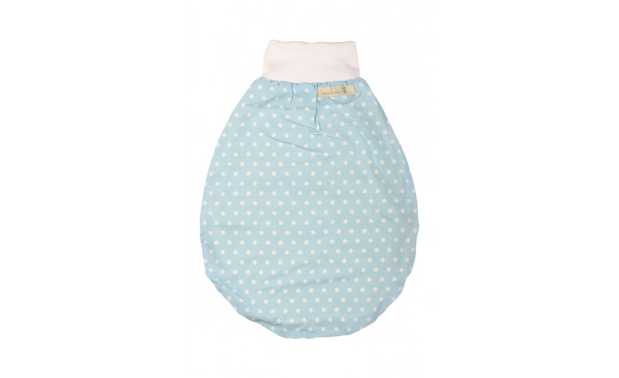 BAUMWOLLTEDDY SCHLAFSACK HUGIE STAR - LIGHT BLUE
