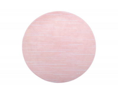 TEPPICHMATTE SOFTIE STRIPES - LIGHT CORAL