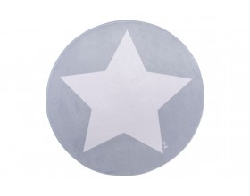 TEPPICHMATTE SOFTIE ONE STAR - GREY