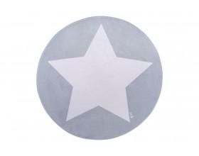 TEPPICHMATTE SOFTIE ONE STAR - GREY