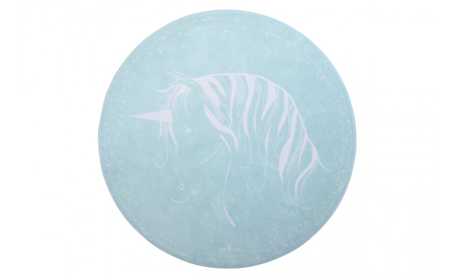 TEPPICHMATTE SOFTIE  UNICORN - MINT