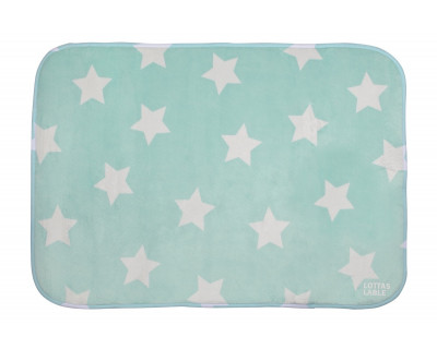 TEPPICHMATTE SOFTIE STAR - MINT
