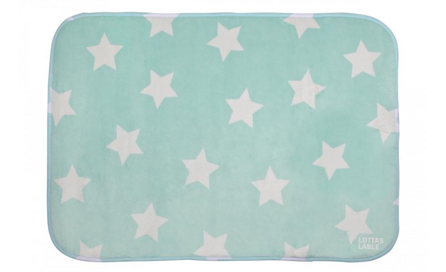TEPPICHMATTE SOFTIE STAR - MINT Auslaufprodukt !!!
