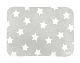 TEPPICHMATTE SOFTIE STAR GREY