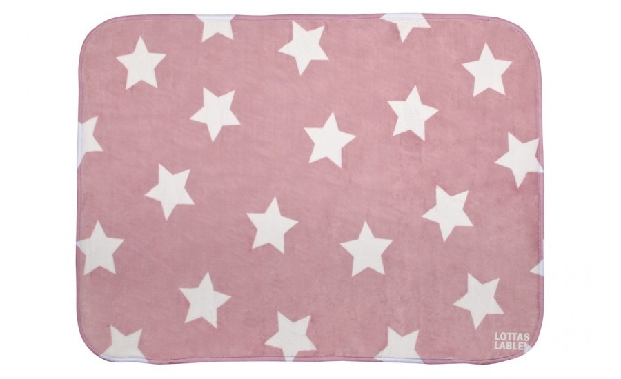 TEPPICHMATTE SOFTIE STAR ROSE