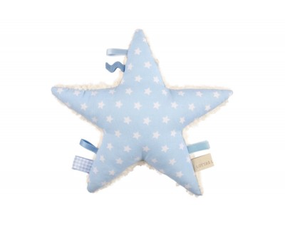 BAUMWOLLTEDDY RASSEL ANTARIS STAR  - LIGHT BLUE