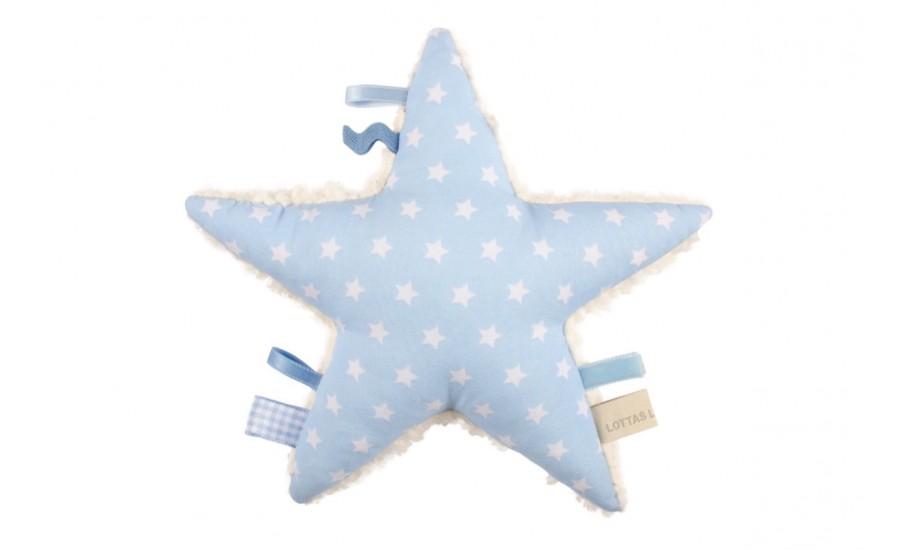 Sternen-Rassel Stern - hellblau