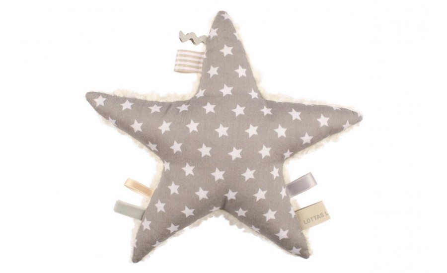 BAUMWOLLTEDDY RASSEL ANTARIS STAR  - GREY