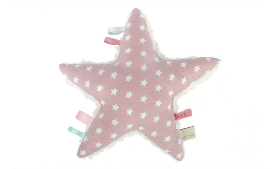 BAUMWOLLTEDDY RASSEL ANTARIS STAR - ROSE