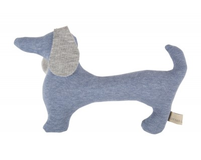 Dackel-Rassel Jersey Betty - pastell blue