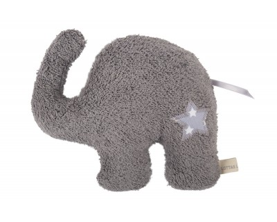 Rollenspielkissen Eldo Elefant grau